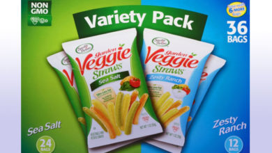 Photo of Garden Veggie Straws