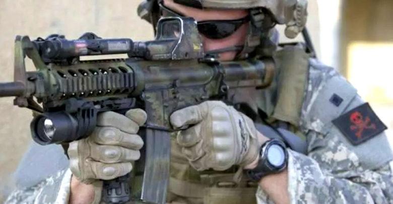 EO Tech Gun Sight